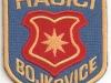 Hasičská nášivka Bojkovice