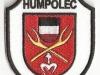 Hasičská nášivka Humpolec
