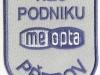 Hasičská nášivka Meopta