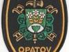 Hasičská nášivka Opatov