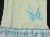 vysivky aplikovaná na textil