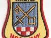 Hasičská nášivka Moravany