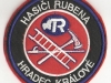 Hasičská nášivka Hradec Králové-Rubena