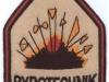 vojenská nášivka pyrotechnik