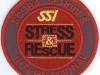 klubová nášivka SSI stress rescue